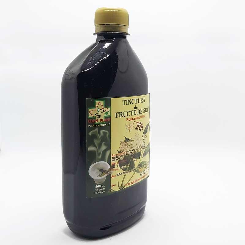 tinctura de fructe de soc parazitozele intestinale